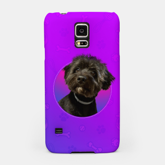 Little Black Dog Samsung Case thumbnail image