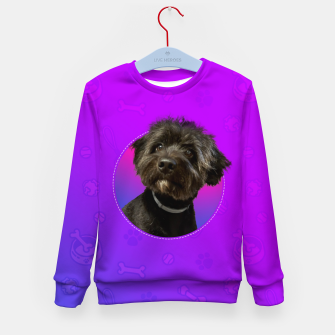 Little Black Dog Kid's sweater thumbnail image
