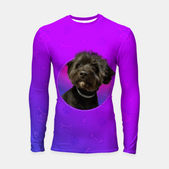 Little Black Dog Longsleeve rashguard  thumbnail image