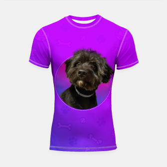 Little Black Dog Shortsleeve rashguard thumbnail image