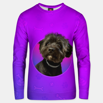 Little Black Dog Unisex sweater thumbnail image