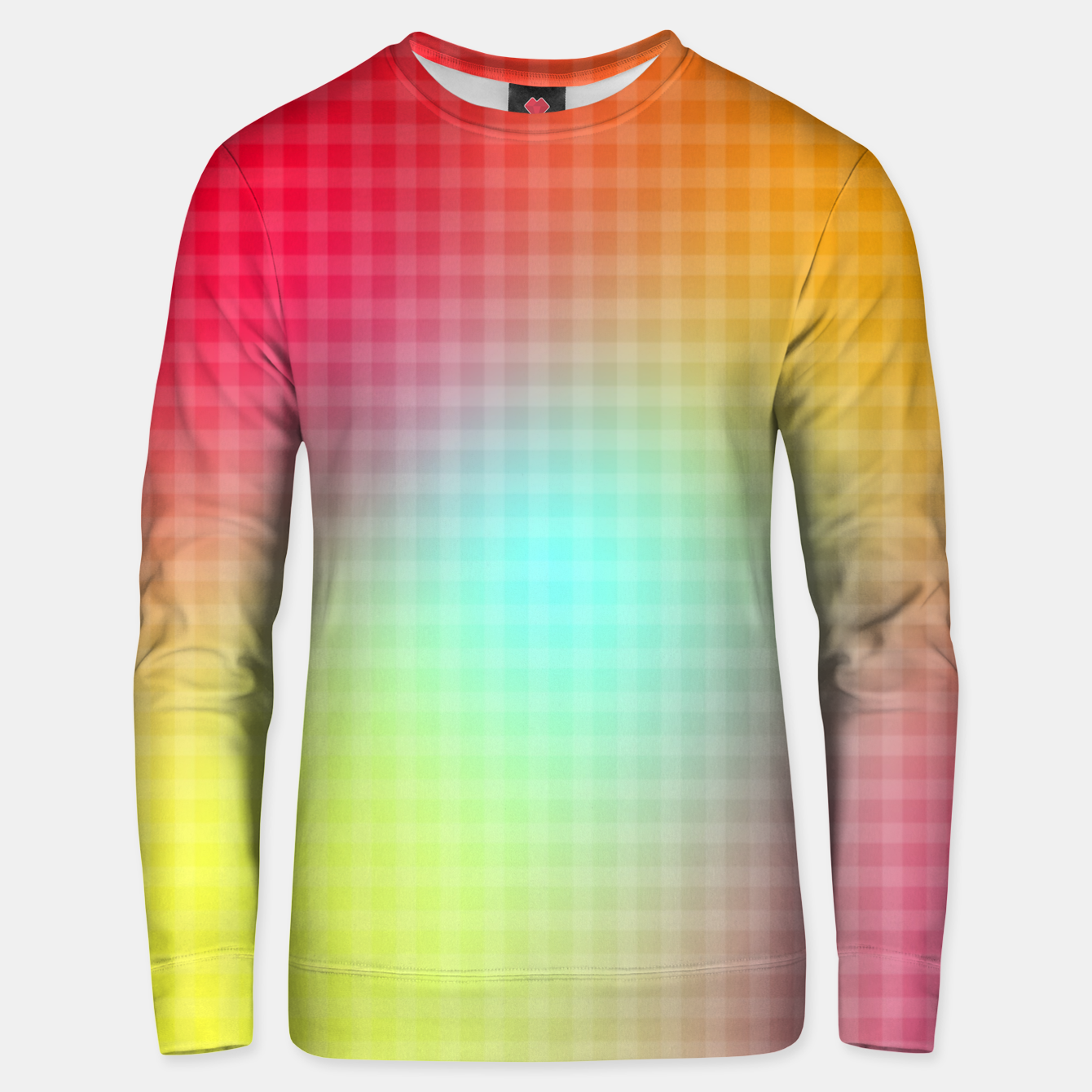 Image of Trippy Gradient Unisex sweater - Live Heroes