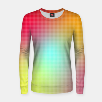 Miniatur Trippy Gradient Women sweater, Live Heroes