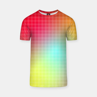 Thumbnail image of Trippy Gradient T-shirt, Live Heroes