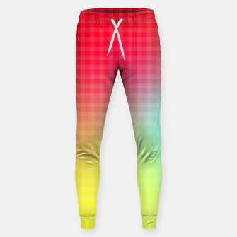 Thumbnail image of Trippy Gradient Sweatpants, Live Heroes