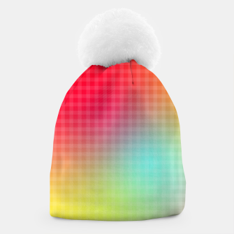 Thumbnail image of Trippy Gradient Beanie, Live Heroes