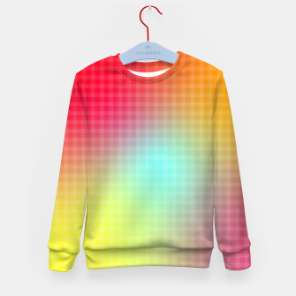 Miniatur Trippy Gradient Kid's sweater, Live Heroes