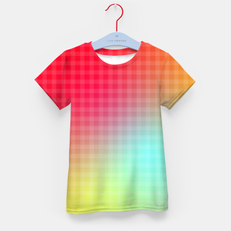 Thumbnail image of Trippy Gradient Kid's t-shirt, Live Heroes