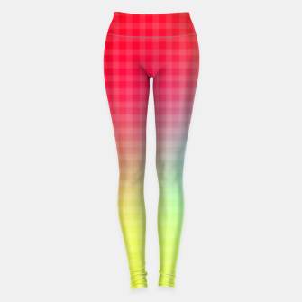 Miniatur Trippy Gradient Leggings, Live Heroes