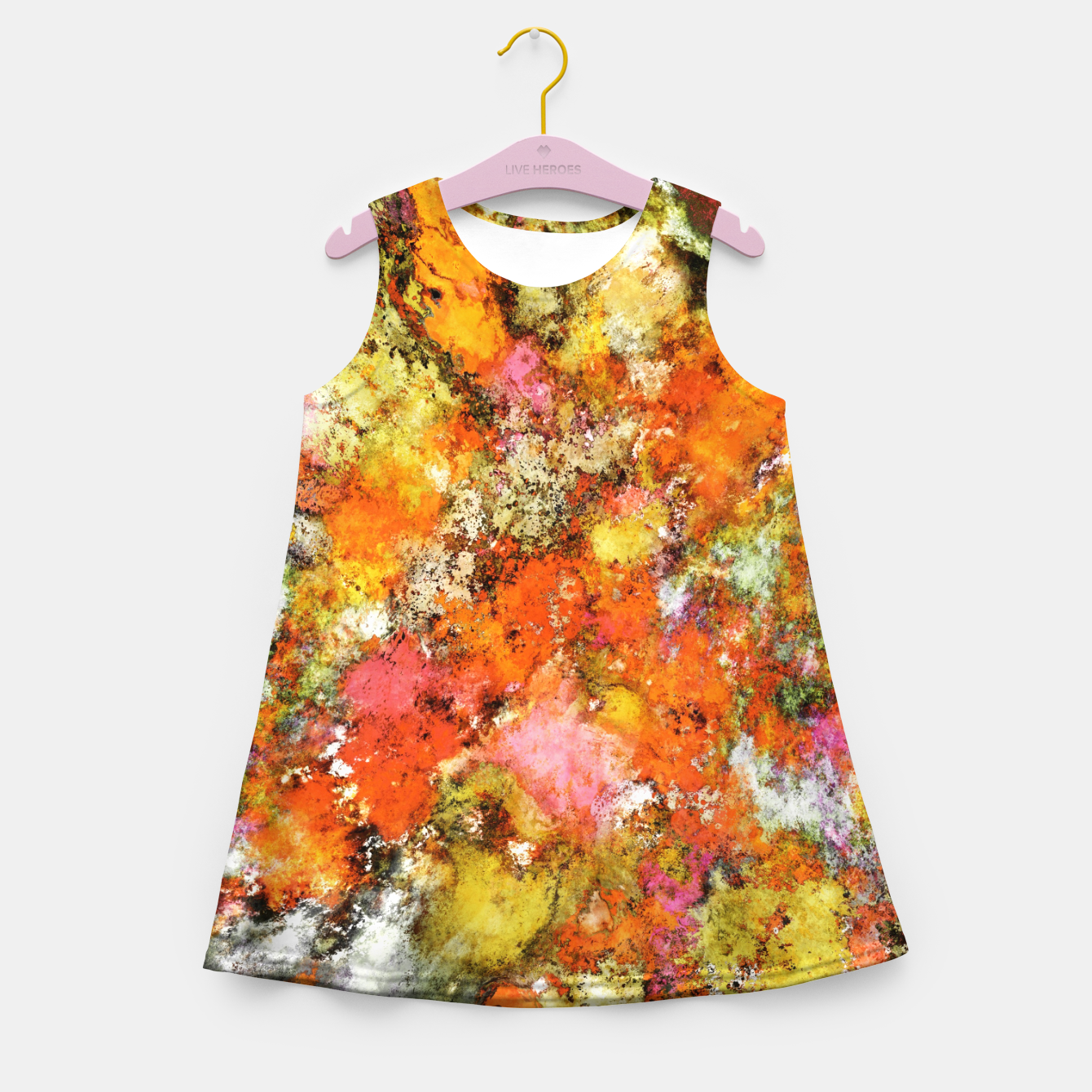 Image of Trip switch Girl's summer dress - Live Heroes