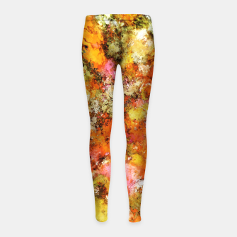 Thumbnail image of Trip switch Girl's leggings, Live Heroes