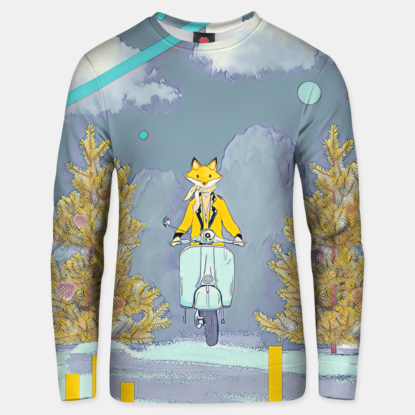 Image of Fox Unisex sweater - Live Heroes