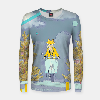 Miniatur Fox Women sweater, Live Heroes
