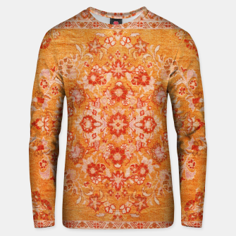 Orange Vintage BOHO Moroccan Style  Unisex sweater miniature