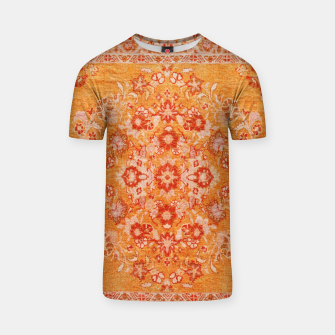 Orange Vintage BOHO Moroccan Style  T-shirt miniature