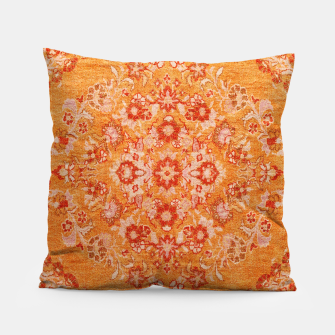 Orange Vintage BOHO Moroccan Style  Pillow miniature