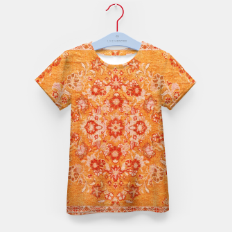 Orange Vintage BOHO Moroccan Style  Kid's t-shirt miniature