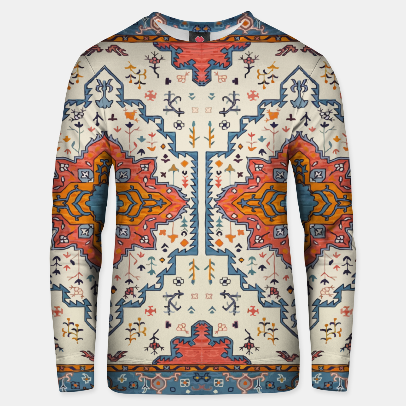 Image of Heritage Floral Moroccan Traditional Style  Unisex sweater - Live Heroes