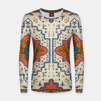 Heritage Floral Moroccan Traditional Style  Women sweater thumbnail image