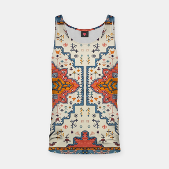 Heritage Floral Moroccan Traditional Style  Tank Top thumbnail image