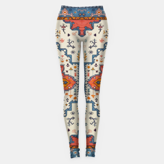 Heritage Floral Moroccan Traditional Style  Leggings thumbnail image