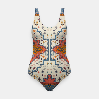 Heritage Floral Moroccan Traditional Style  Swimsuit thumbnail image