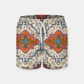 Heritage Floral Moroccan Traditional Style  Swim Shorts thumbnail image