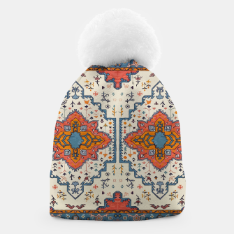 Heritage Floral Moroccan Traditional Style  Beanie thumbnail image