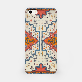 Miniatur Heritage Floral Moroccan Traditional Style  iPhone Case, Live Heroes