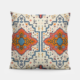 Miniatur Heritage Floral Moroccan Traditional Style  Pillow, Live Heroes