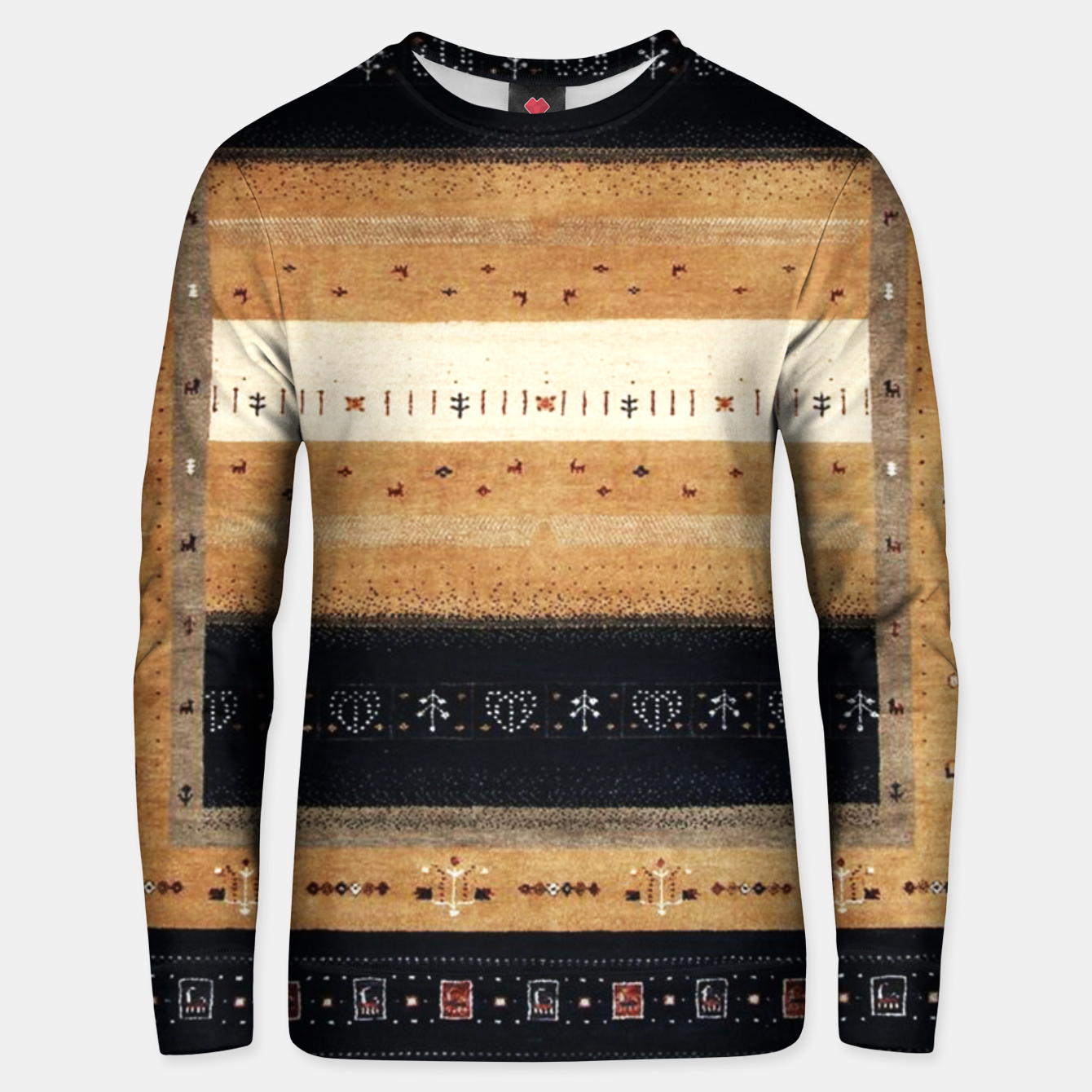 Image of Traditional Moroccan Artwork Farmhouse Style Unisex sweater - Live Heroes
