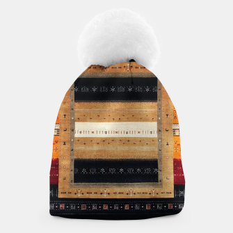 Thumbnail image of Traditional Moroccan Artwork Farmhouse Style Beanie, Live Heroes