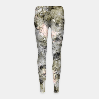 Turning to stone Girl's leggings thumbnail image