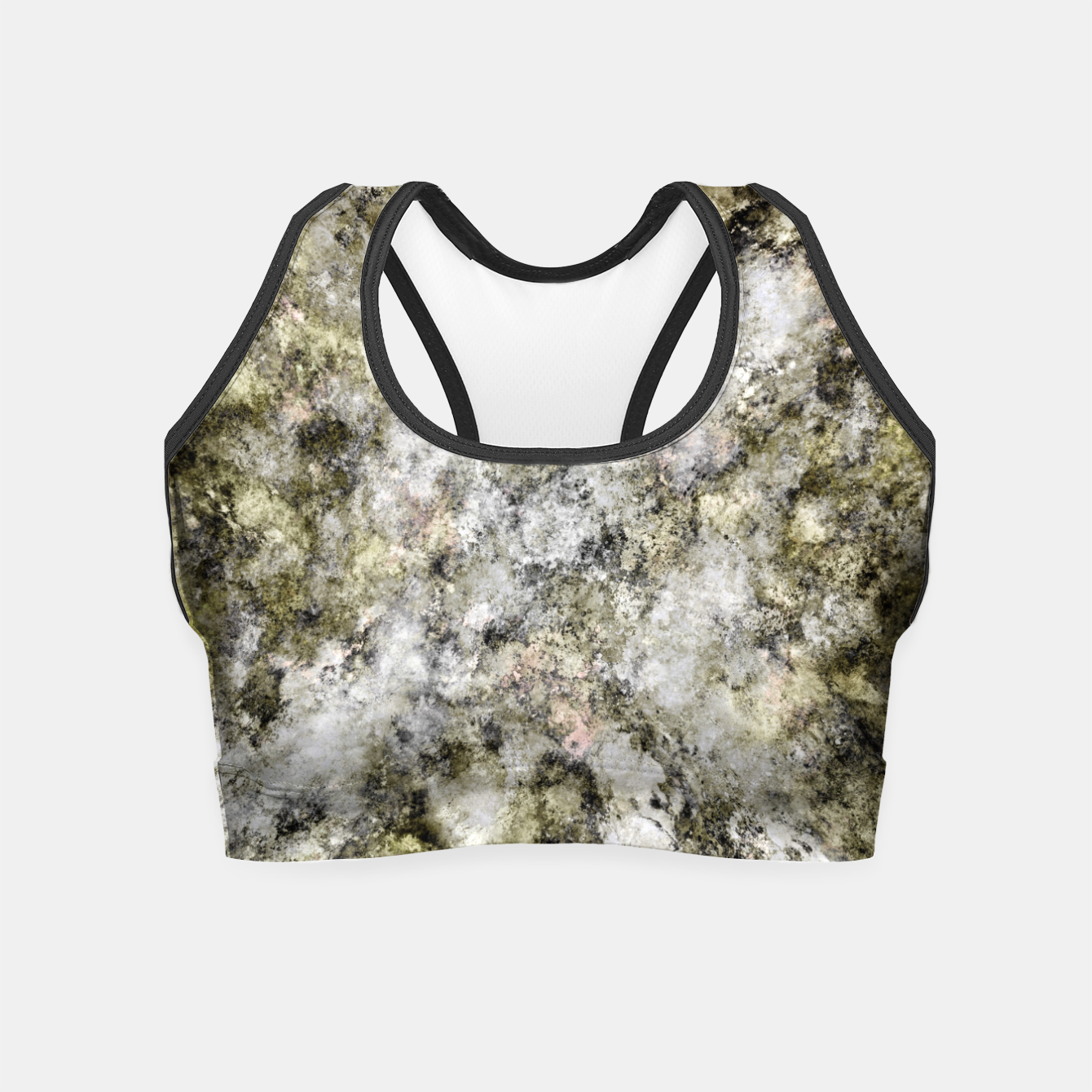 Image of Turning to stone Crop Top - Live Heroes