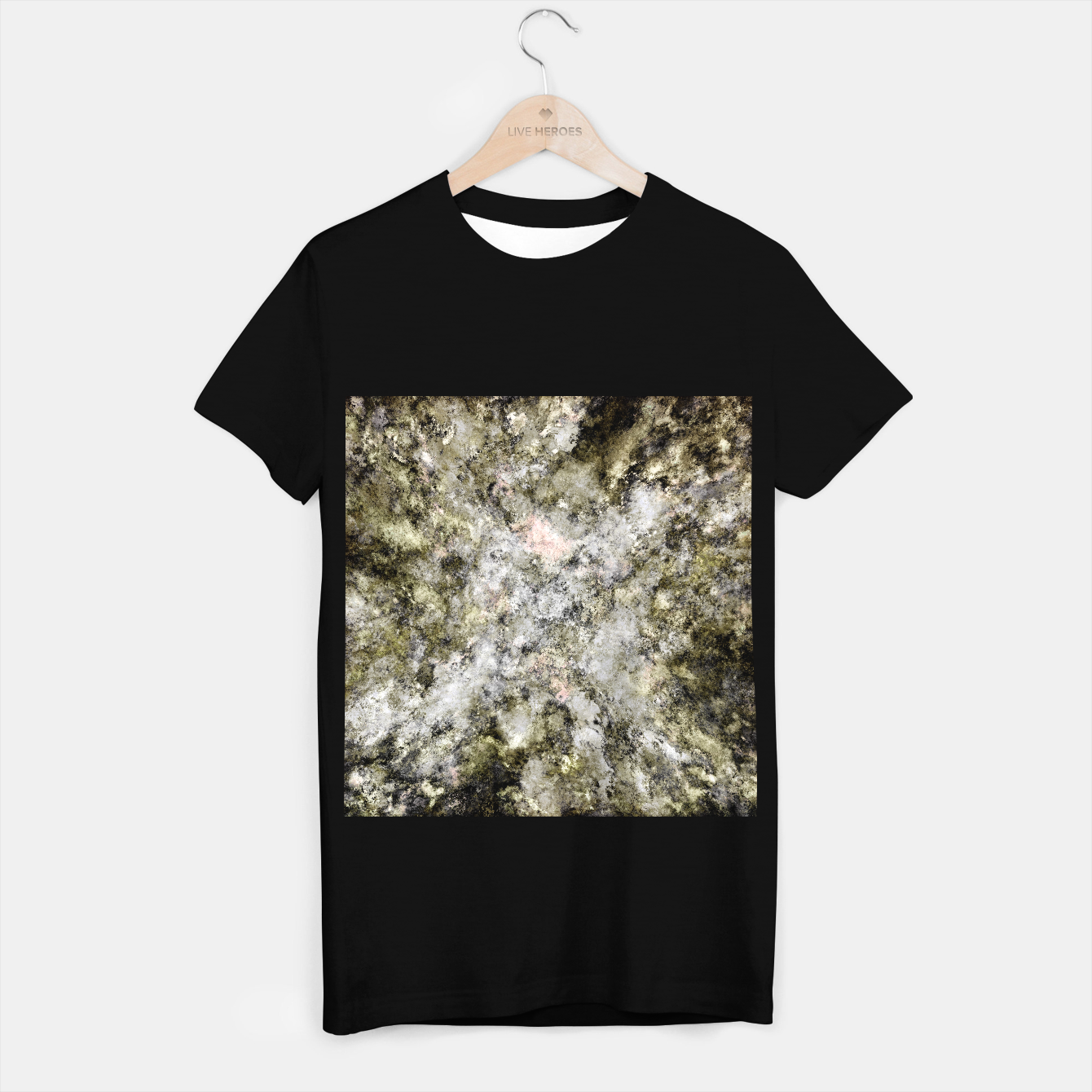 Image of Turning to stone T-shirt regular - Live Heroes