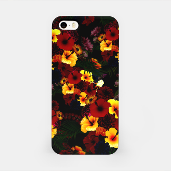 Miniature de image de Hibiscus Flower Black iPhone Case, Live Heroes