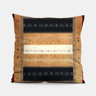 Miniature de image de Traditional Moroccan Artwork Farmhouse Style Pillow, Live Heroes