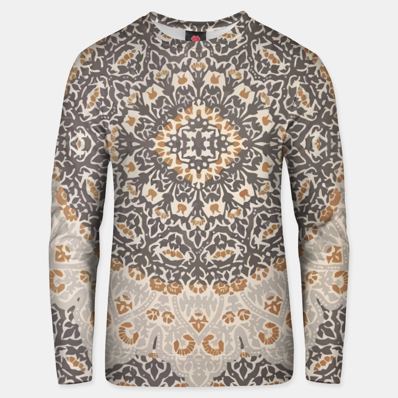 Image of Oriental Heritage Traditional Moroccan Floral Mandala  Unisex sweater - Live Heroes