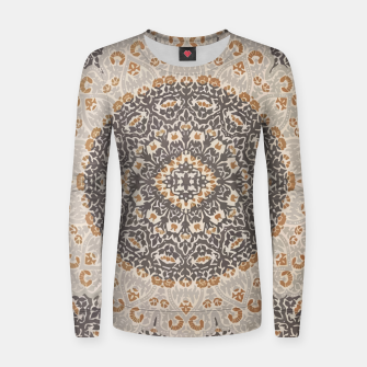 Thumbnail image of Oriental Heritage Traditional Moroccan Floral Mandala  Women sweater, Live Heroes