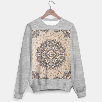 Thumbnail image of Oriental Heritage Traditional Moroccan Floral Mandala  Sweater regular, Live Heroes