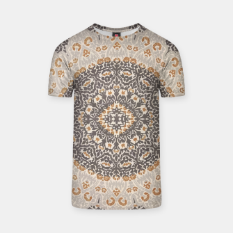 Thumbnail image of Oriental Heritage Traditional Moroccan Floral Mandala  T-shirt, Live Heroes