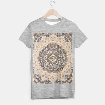 Thumbnail image of Oriental Heritage Traditional Moroccan Floral Mandala  T-shirt regular, Live Heroes