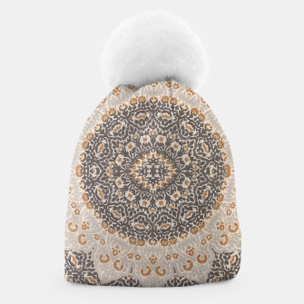 Thumbnail image of Oriental Heritage Traditional Moroccan Floral Mandala  Beanie, Live Heroes