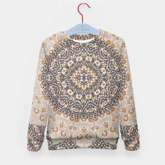 Thumbnail image of Oriental Heritage Traditional Moroccan Floral Mandala  Kid's sweater, Live Heroes