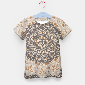Thumbnail image of Oriental Heritage Traditional Moroccan Floral Mandala  Kid's t-shirt, Live Heroes