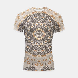Thumbnail image of Oriental Heritage Traditional Moroccan Floral Mandala  Shortsleeve rashguard, Live Heroes