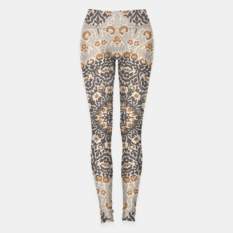 Thumbnail image of Oriental Heritage Traditional Moroccan Floral Mandala  Leggings, Live Heroes