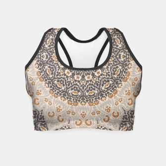 Thumbnail image of Oriental Heritage Traditional Moroccan Floral Mandala  Crop Top, Live Heroes