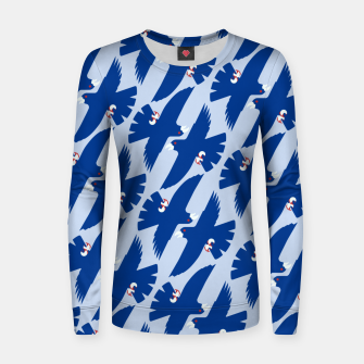 Gyrfalcon - Iceland flag symbol Women sweater miniature