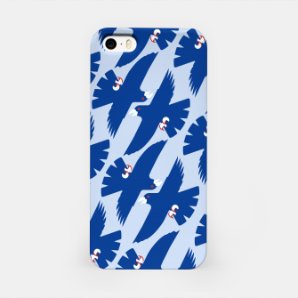 Gyrfalcon - Iceland flag symbol iPhone Case miniature